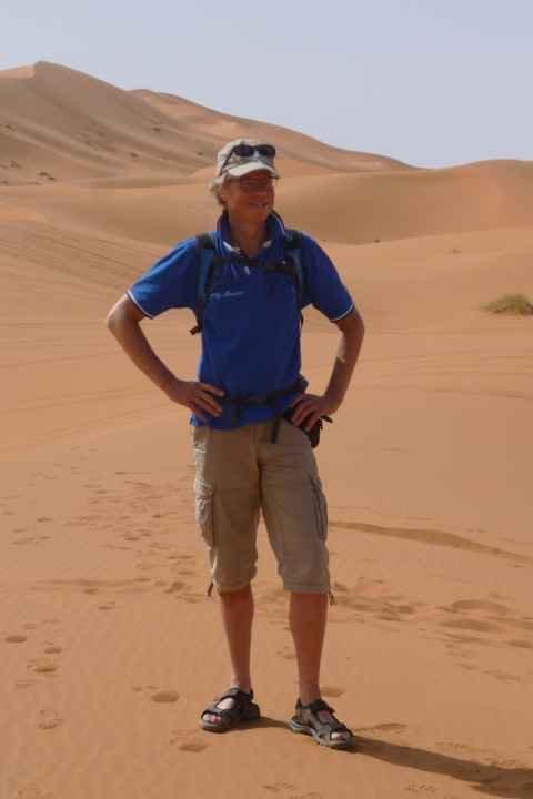 Ik houd van vergezichten en de magie van de woestijn